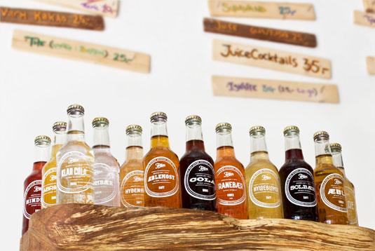 frem苏打饮料瓶设计——不同字体设计代表不同的味道?