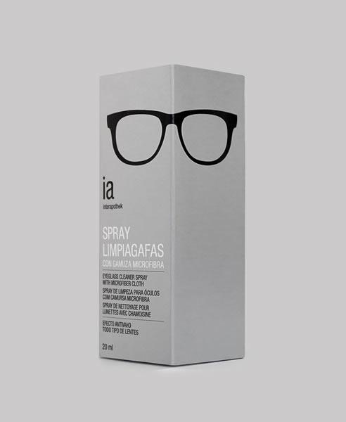 眼镜盒包装设计图展示