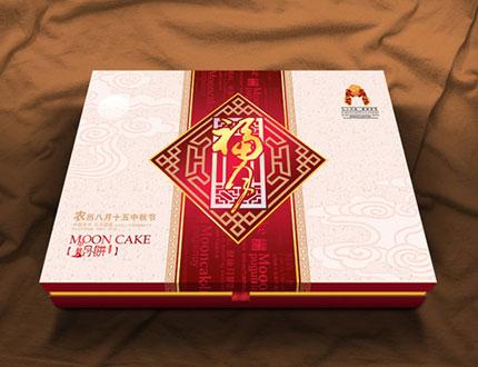 古典窗棂式月饼包装盒 - 食品包装_食品包装设计 - .