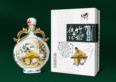 高档中国风白酒酒盒包装设计