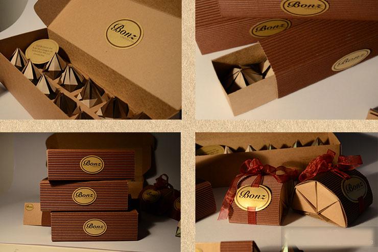 bonz(邦治巧克力)包装盒设计