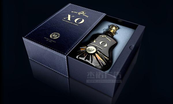 产品包装 酒盒包装 xo高端洋酒概念包装设计