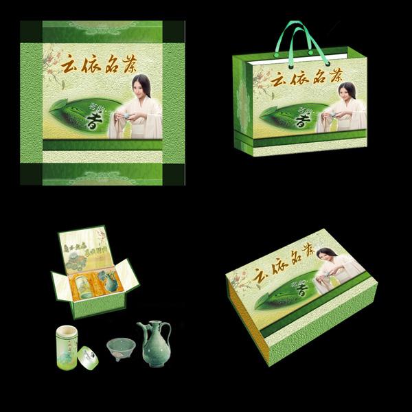 茶叶包装系列设计 - 茶叶包装盒