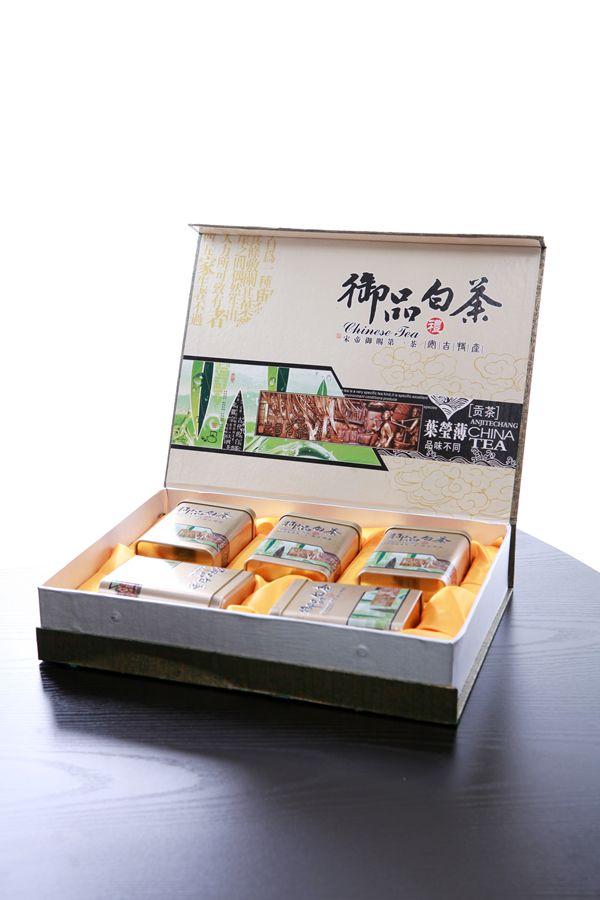 御品白茶纸质/木质礼盒包装设计