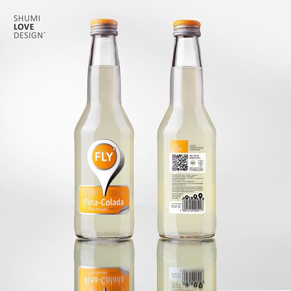 低酒精度的水果酒包裝設計