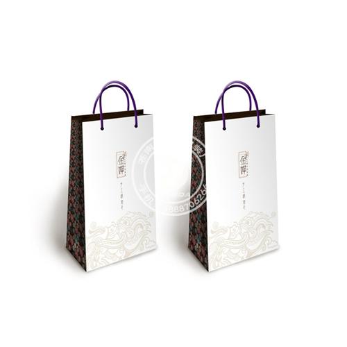 特色中国风画手提袋设计展示