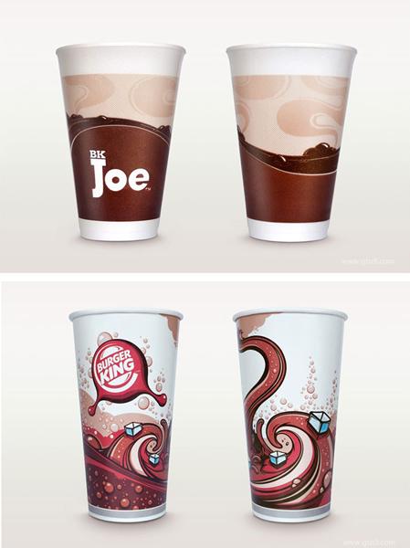 产品包装 食品包装 汉堡王品牌的包装创新设计