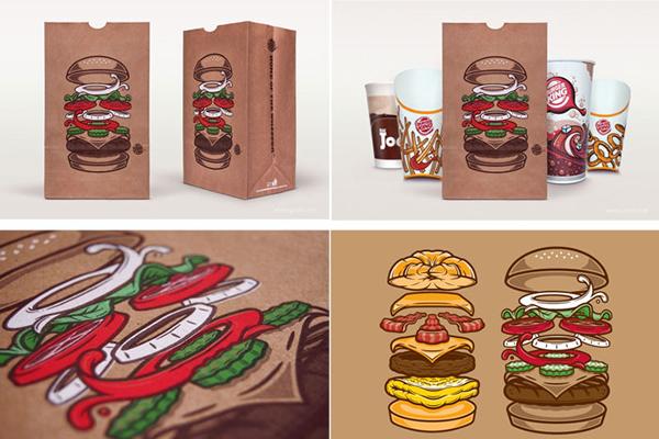 漢堡王品牌的包裝創新設計