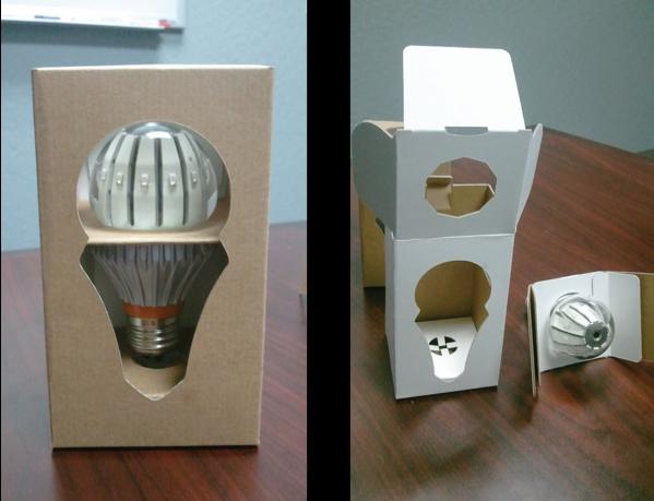 led 灯泡的 创意 包装设计 led 灯泡 的 创意包装设计