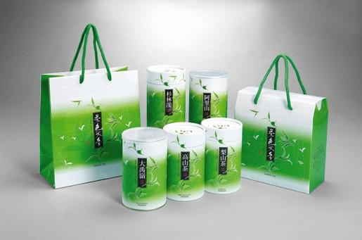 圆筒包装盒手提袋包装设计欣赏