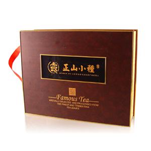 正山小种茶叶包装箱高档包装盒设计
