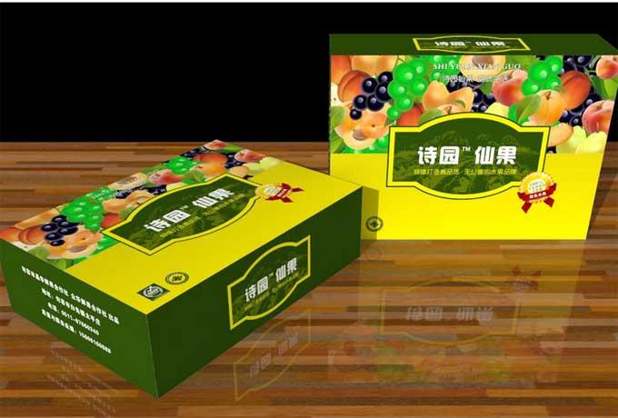 水果包装盒食品包装箱设计欣赏