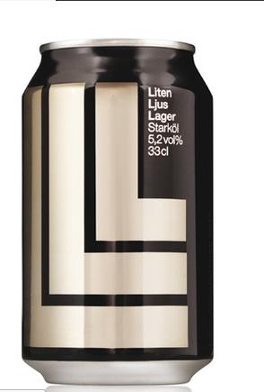 瑞典啤酒独特包装设计欣赏
