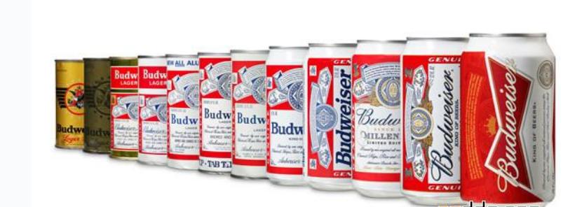 设计欣赏 包装制品 欣赏百威啤酒更换最新包装    食品包装   新包装