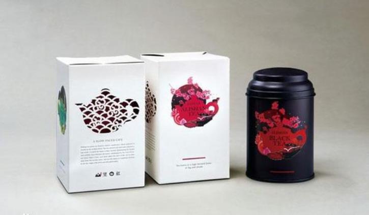 台湾新景系列茶叶包装设计欣赏