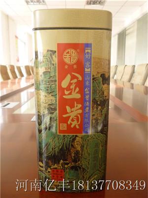 低价印刷加工马口铁金属茶叶罐