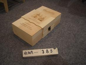 木质葡萄酒盒 礼盒 红酒木盒包装 鑫千艺出品