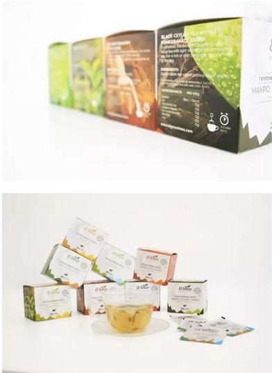 产品包装 茶叶包装 茶叶包装做成这样,我不爱茶的人都想试试    白底