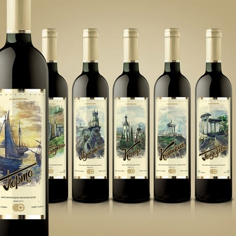 国外经典红酒包装设计