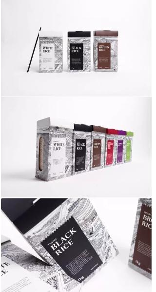 五谷杂粮包装欣赏,设计的灵魂