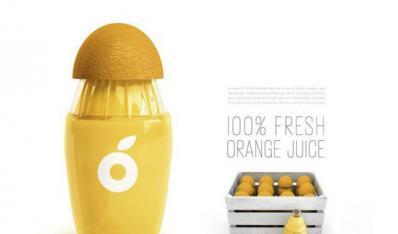 橙汁创意包装